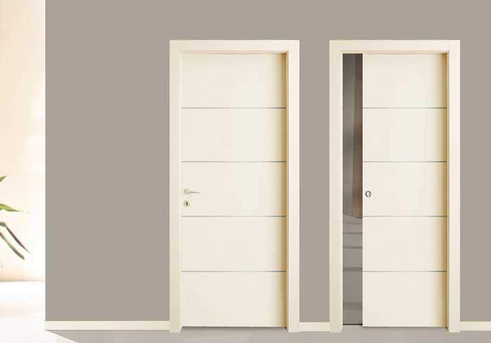 Porte Con Inserti In Alluminio : Dinamica porte la porta moderna con inserti in alluminio